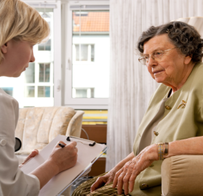 caregiver counseling elderly patient